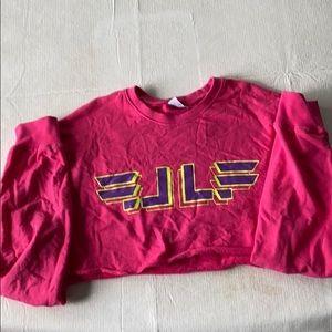 LF Cropped long sleeved sweatshirt
